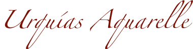 Urquías Aquarelle Logo