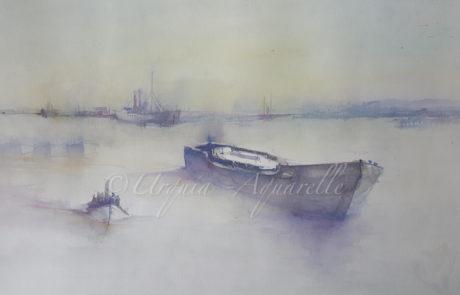 Urquias Aquarelle Barcos morados