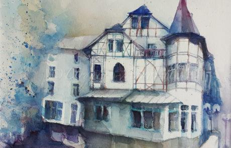 urquias-aquarelle-Lippstaadt- Tivoli