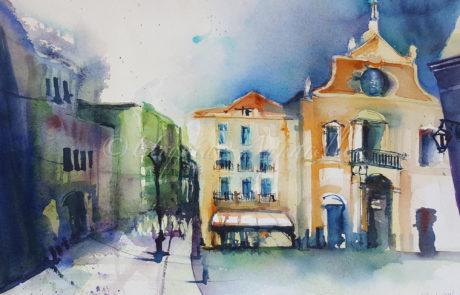 urquias-aquarelle-Lisabon 16