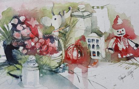 urquias-aquarelle-Navidad 3