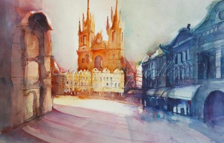 urquias-aquarelle-Prag -16