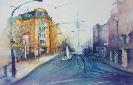 urquias-aquarelle-Berlin 1 56x39cm